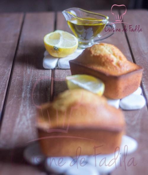 cake citron huile d'olive