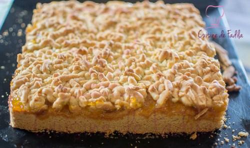 Gâteau Algérien à la confiture