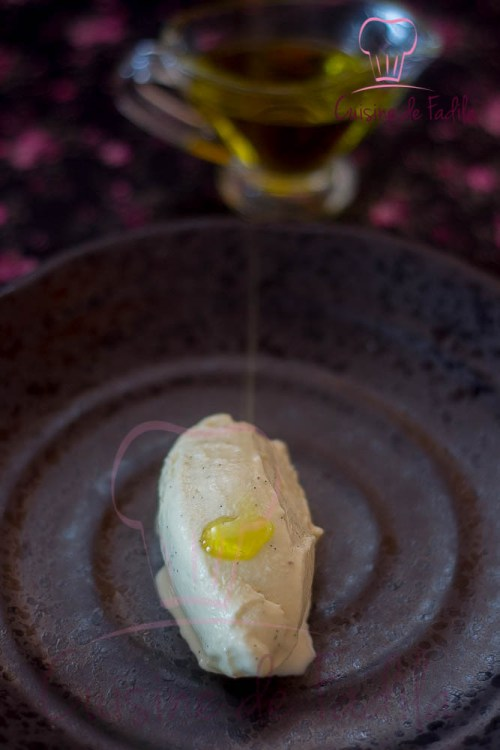 crème glacée huile d'olive