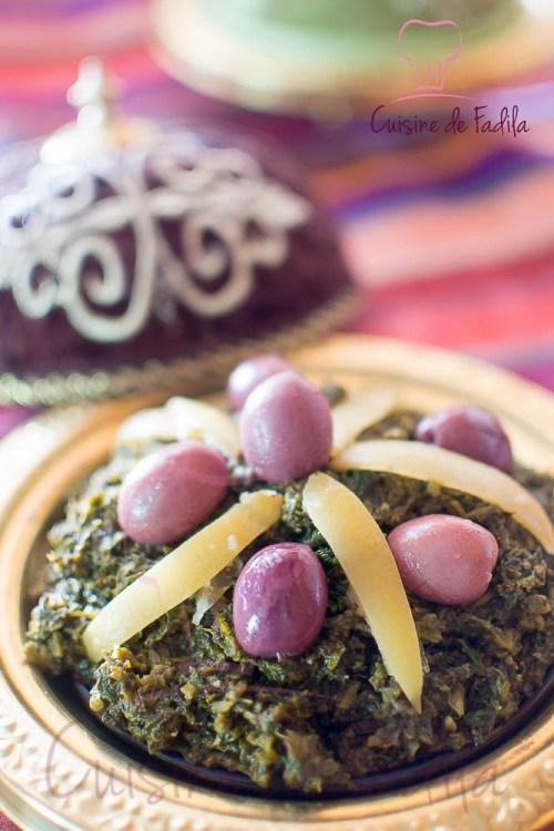 Épinards à la Marocaine