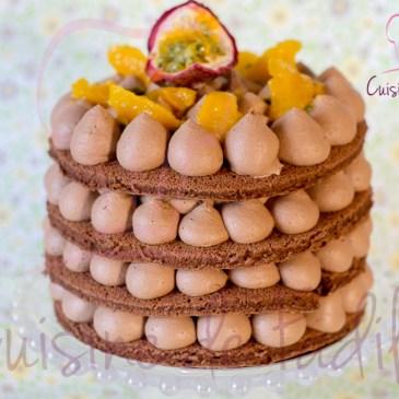 Gâteau au chocolat orange passion : recette en vidéo