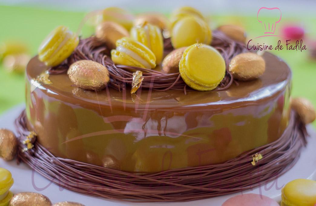 Entremets Chocoyuzu Cuisine De Fadila