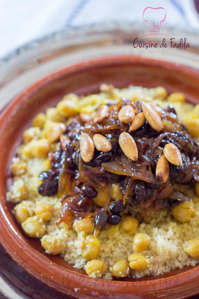 Couscous tfaya recette en vid o cuisine de fadila for Video de cuisine youtube