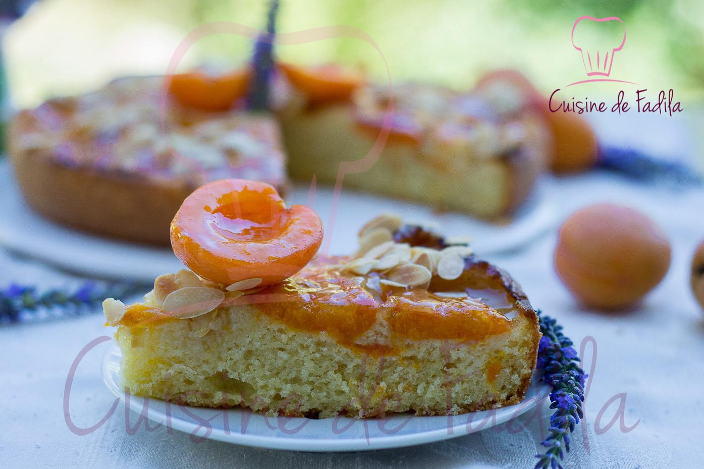 G teau aux abricots et la lavande cuisine de fadila for Video de cuisine youtube