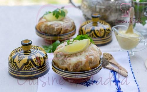 pastilla poulet moutarde