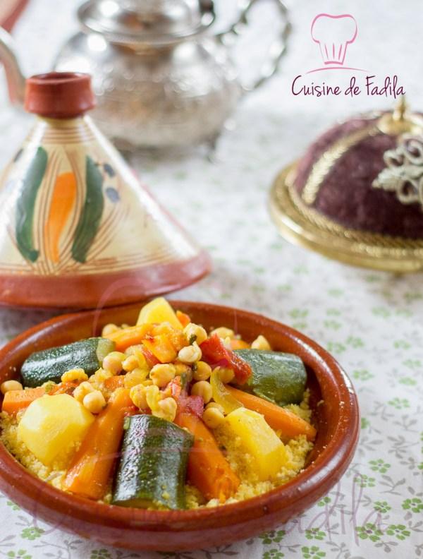 Cousous de Maïs aux légumes