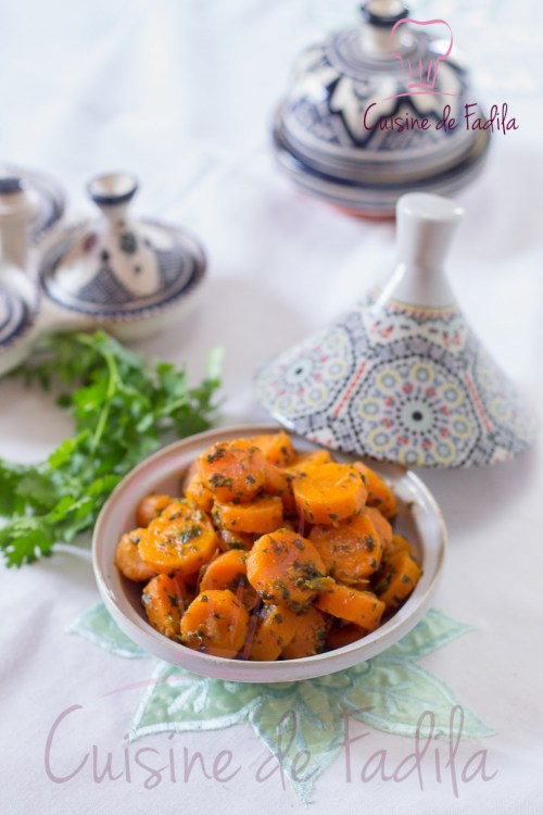 carottes à la chermoula