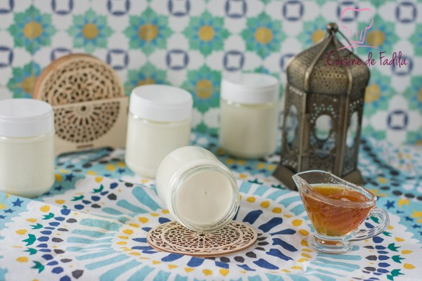 Yaourts au miel et à la fleur d'oranger