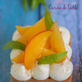 Tartelettes prunes vanille et verveine citronnée