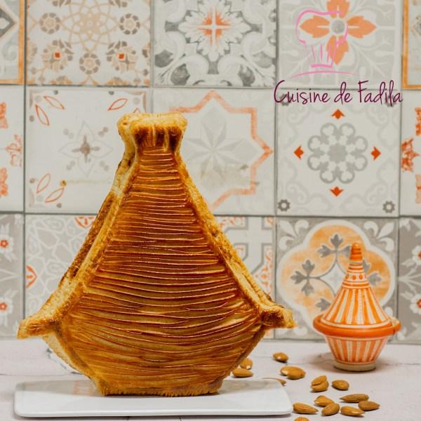 galette des rois aux saveurs marocaines