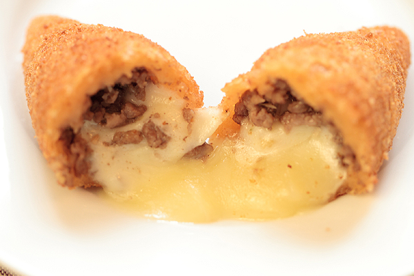 Beef and Cheese Croquettes