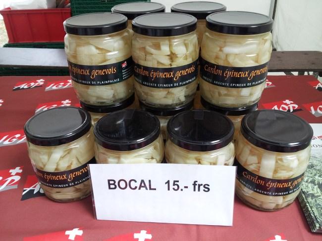 jars of cardons