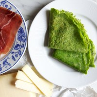 Recipe: Spinach Crêpes with Gruyère & Jambon Cru