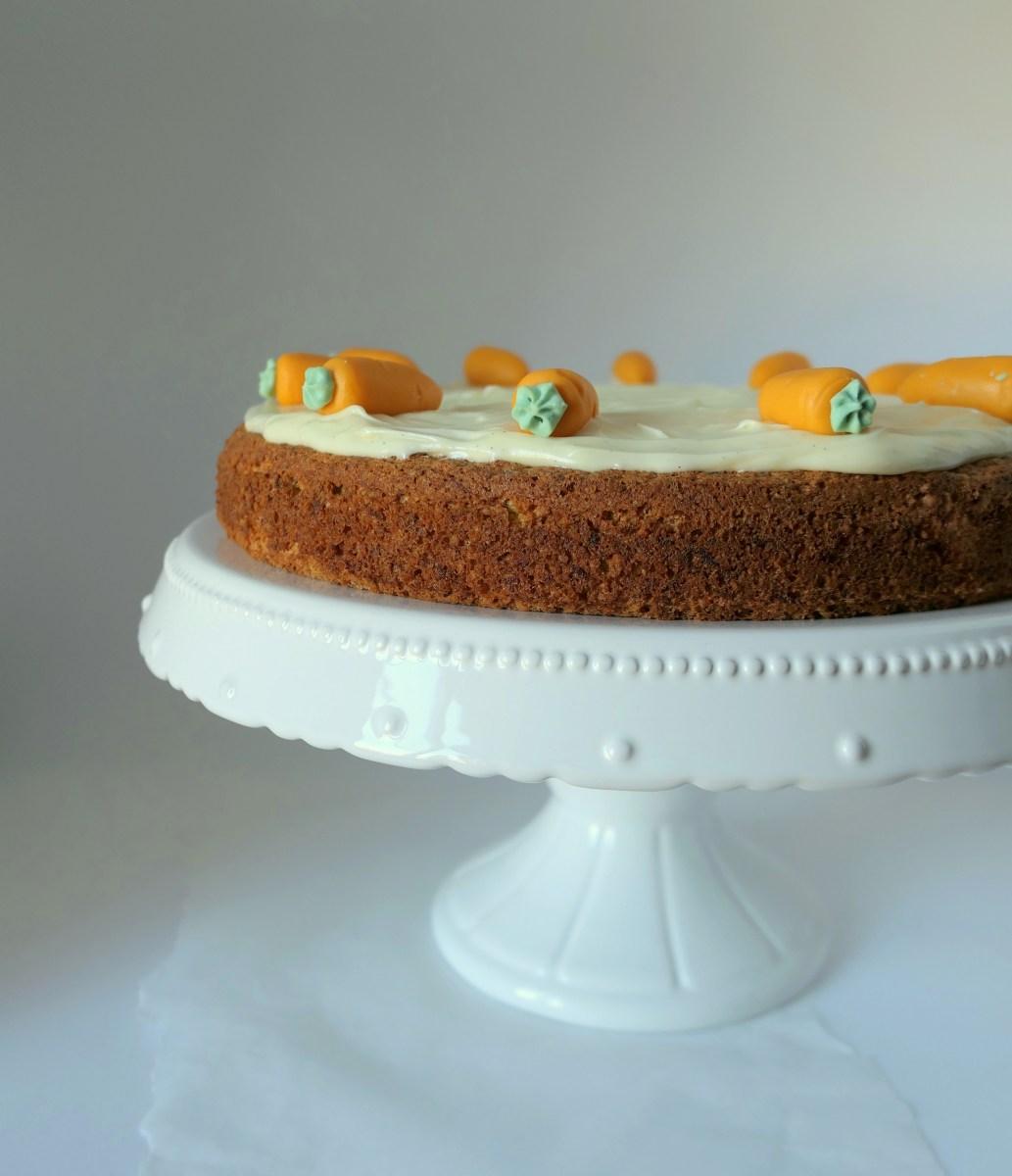 Recipe: Gluten-Free Carrot Cake (Aargauer Rüeblitorte)