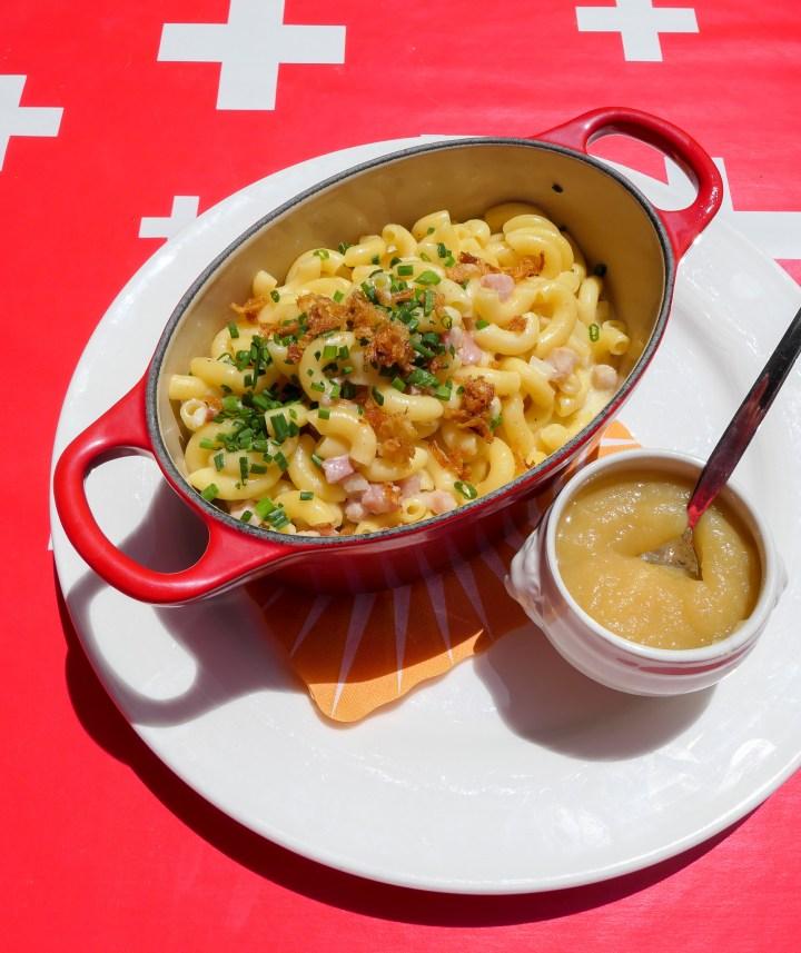 macaroni du chalet