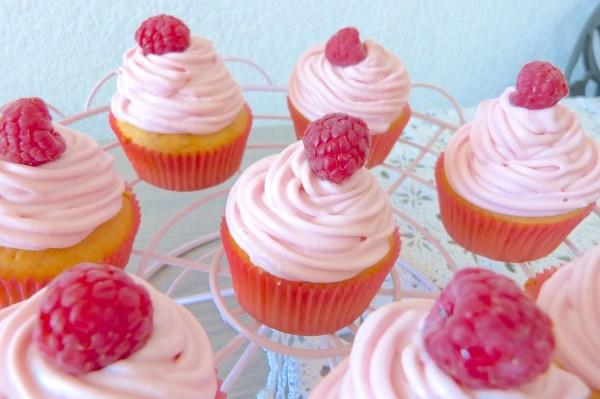 cupcake framboise