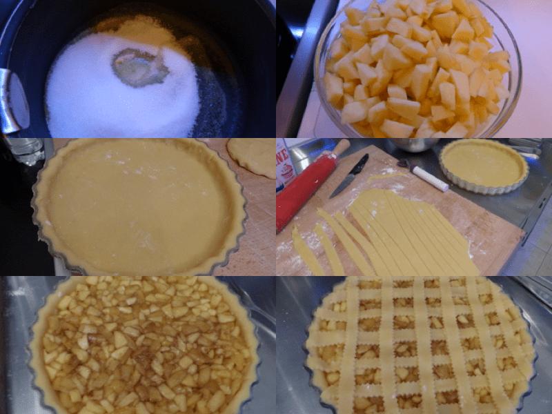 tarte rustique pommes