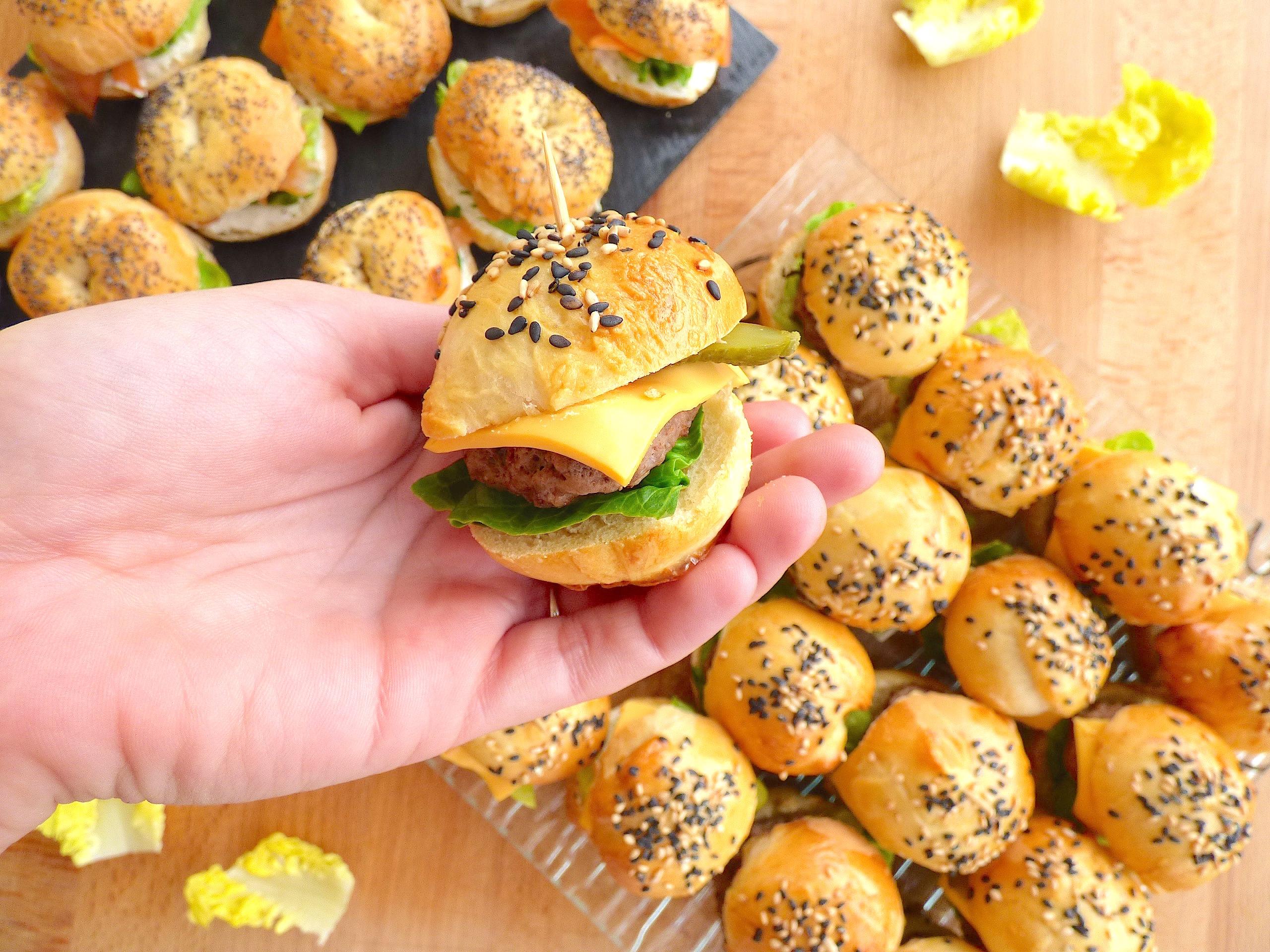 Mini Burgers Tout Maison La Cuisine De Micheline
