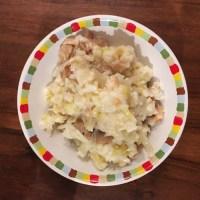 Risotto poireaux, champignons et noix de cajou