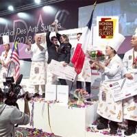 Europain 2018 : la France championne du Mondial des Arts Sucrés