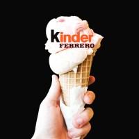 2018 : des glaces Kinder en France