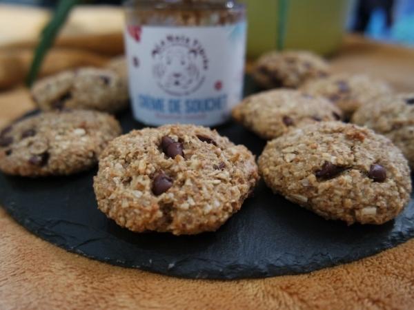 Cookies au souchet sans gluten et vegan