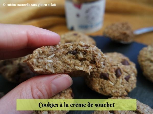 Cookie sans gluten et vegan