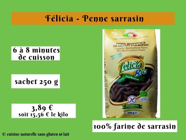 Félicia - Penne sarrasin