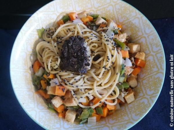 Félicia spaghetti pâtes sans gluten