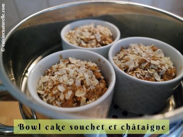 Bowl cake sans œuf au Vitaliseur