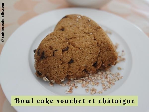Bowl cake sans œuf et moelleux