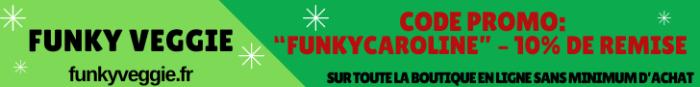 Funky veggie code promo cuisine naturelle