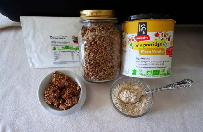 Kokoji petits déjeuner sans gluten vegan poudre porridge