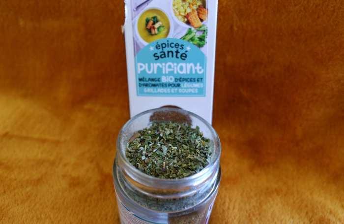Mélange d'épices santé purifiant aromandise
