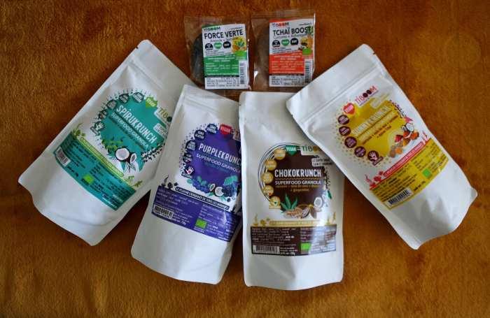 Tiboom granola sans gluten vegan