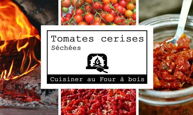 Tomates cerises séchées au four à bois
