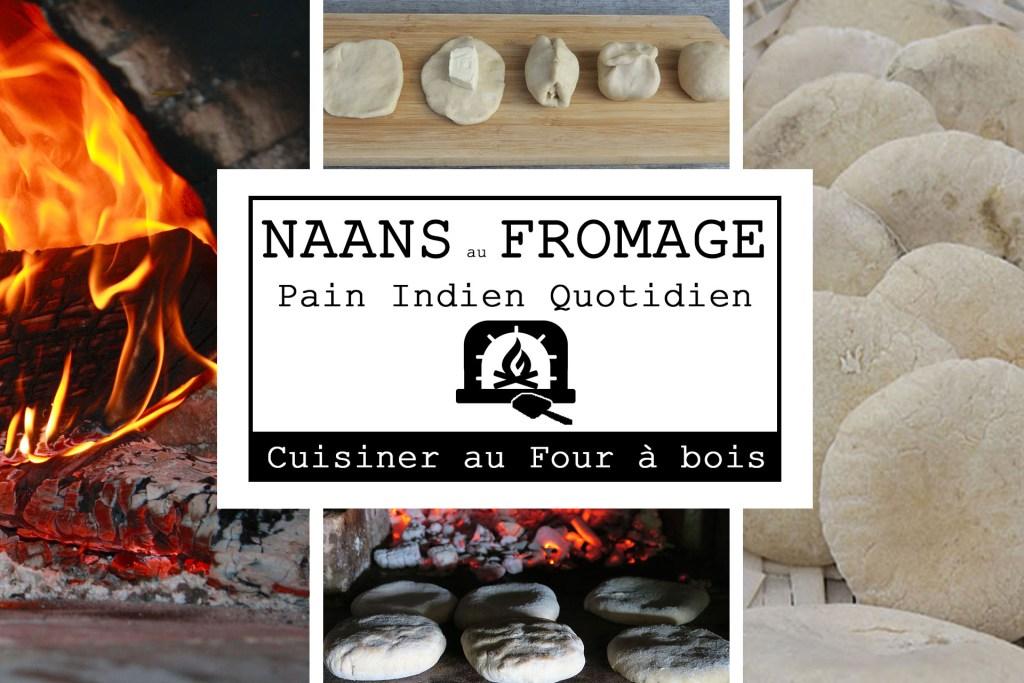 Affiche Naans fromage cuisson au four à bois