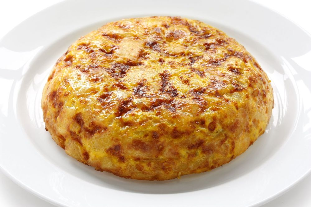 13566482 - tortilla, spanish potato omelet