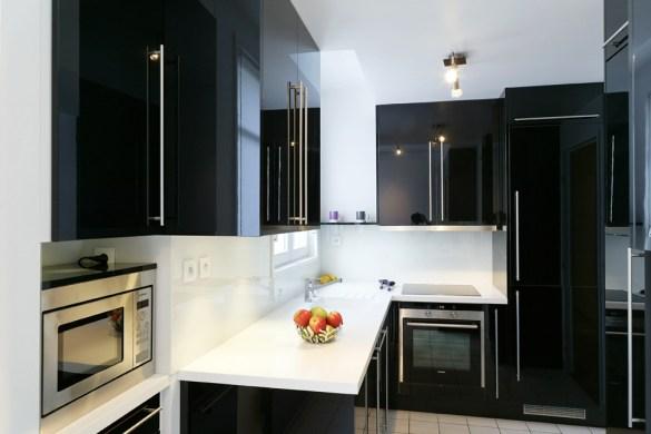 frame de snaidero l 39 l gance la crois e des styles cuisines et bains. Black Bedroom Furniture Sets. Home Design Ideas