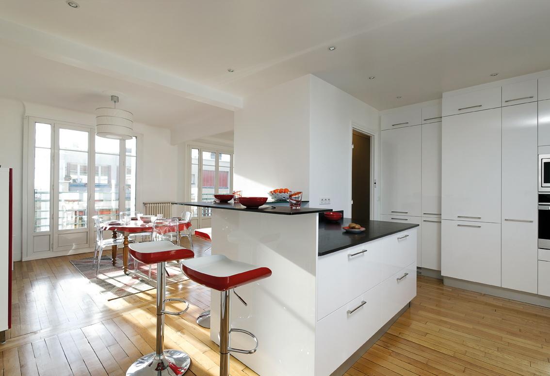Cuisine Moderne Dans Ferme Maison Moderne