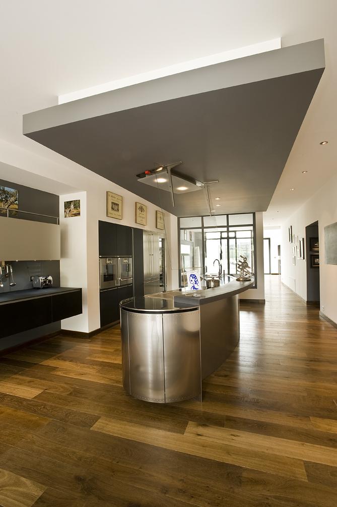 Cuisine d li e et voluptueuse cuisines et bains - Faux plafond cuisine ouverte ...
