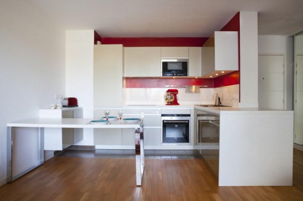 cuisine rouge