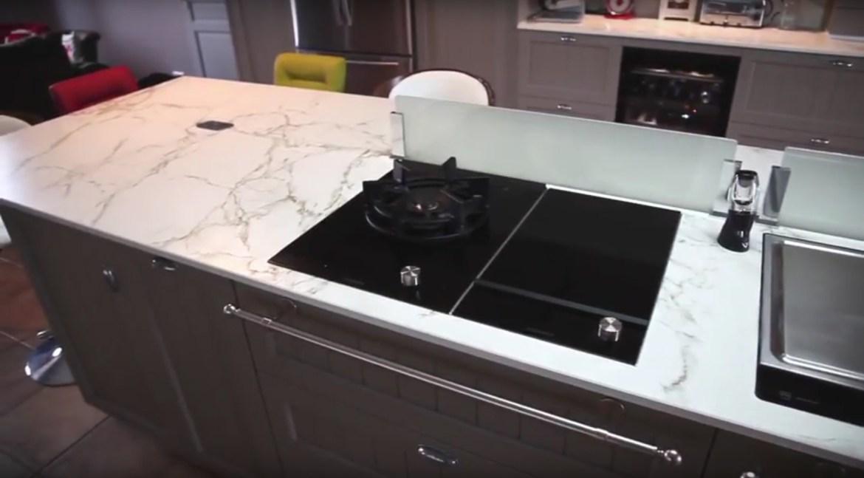plan de travail en pierre de lave great plan de travail. Black Bedroom Furniture Sets. Home Design Ideas