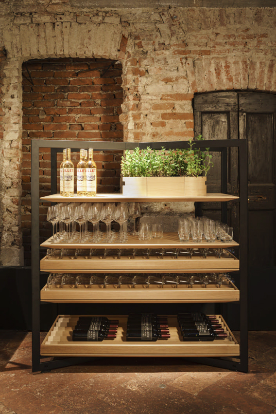 etagere vin