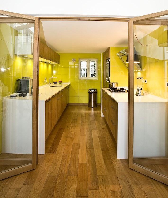 la cuisine couloir 10 exemples a