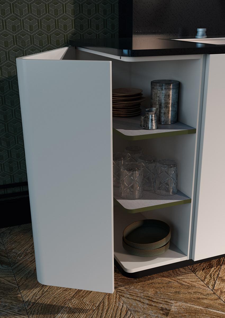 placard cuisine pratique sur côté