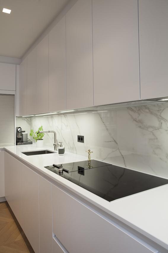 facade cuisine blanche