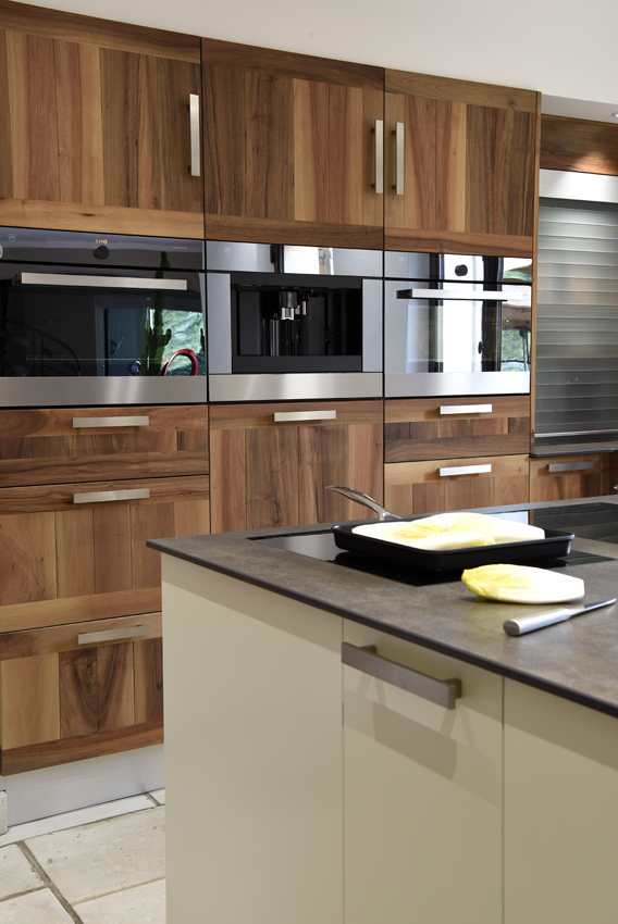 cuisine bois design moderne