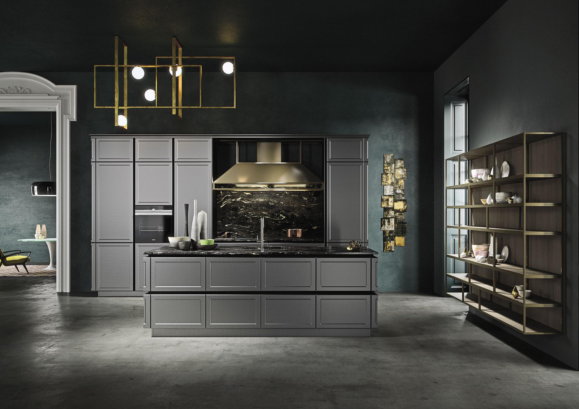 Deco Salle De Bain Beige Et Marron ~ Frame De Snaidero Prim E Au Good Design Award Cuisines Et Bains
