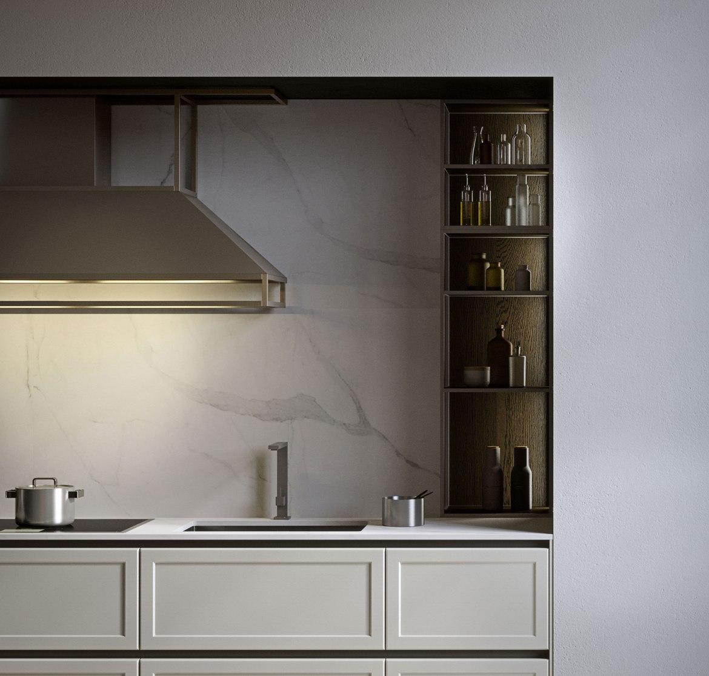 frame de snaidero prim e au good design award cuisines et bains. Black Bedroom Furniture Sets. Home Design Ideas